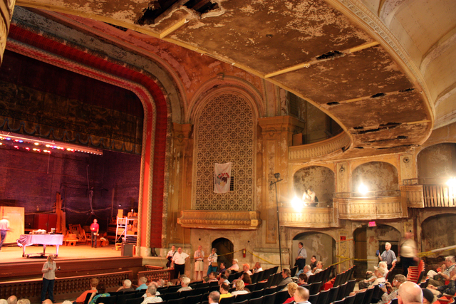 Fischer Theatre, Danville, IL - auditorium