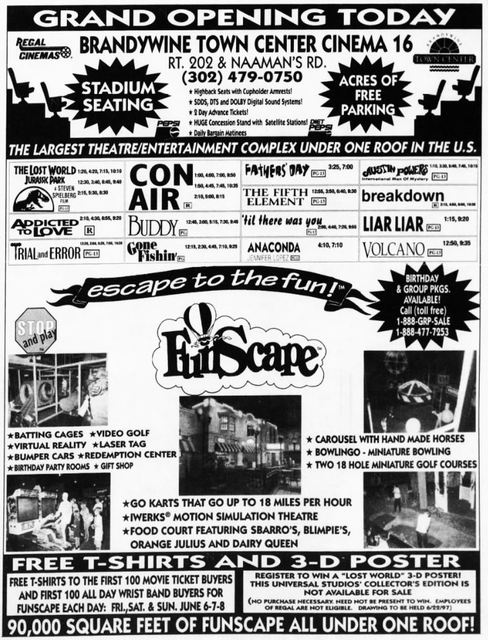 June 6th, 1997 grand opening ad