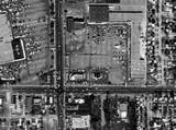 Algier's Drive-In Aerial View