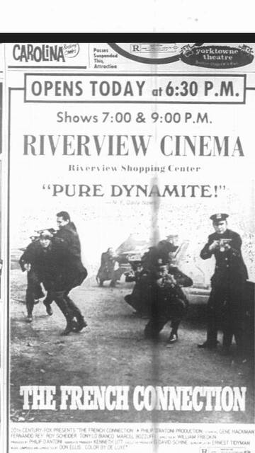Grand Opening of the Riverview Cinema April 26,1972