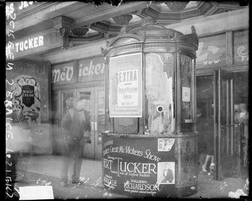 McVickers Theater, 23 W. Madison, 1926. Chicago History Museum, DN-0081671