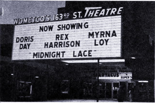 163rd Street U0026 Patio Theatre