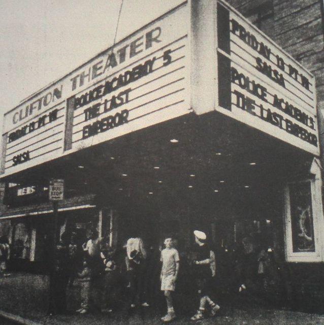 Clifton theatre in clifton nj cinema treasures - Amc movie theater garden state plaza ...