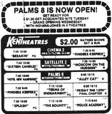 May 18th, 1984 grand opening ad as a 8-plex