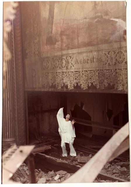 Nothing sadder than a demolished theater!