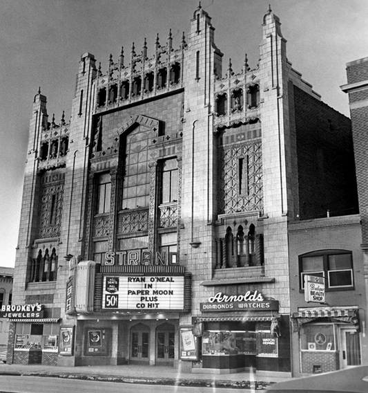 strand theater in council bluffs ia cinema treasures