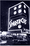 "<p>Iconic road show era shot of the De Mille Theatre showing ""Spartacus"" on October 6, 1960</p>"