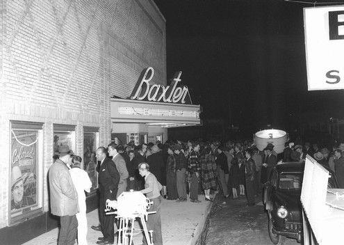 Baxter Theatre In Mountain Home Ar Cinema Treasures