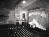 <p>Original auditorium from a slightly different angle but minus full house lighting and with the 'fussy' house tabs closed.</p>