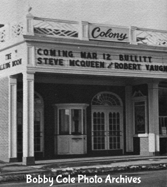 The Colony Theater 1969