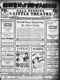 October 11th, 1935 grand opening ad as Little