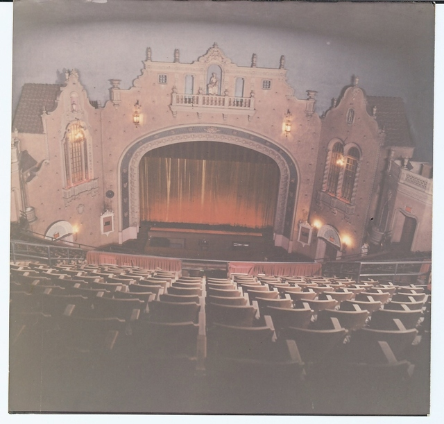 Memorial Theatre interior