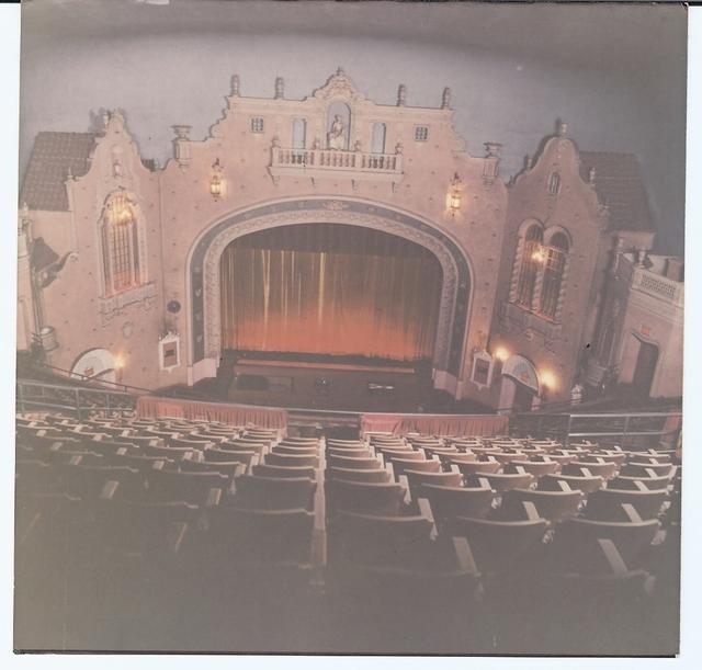 Memorial Theatre interior