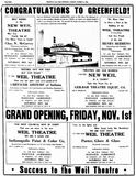 October 31st, 1946 grand opening ad