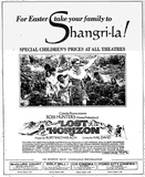 """Come to Shangri-La for Easter"" in Ross Hunter's LOST HORIZON 1973  Music by Burt Bacharach"
