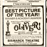 OLIVER! in 70 mm  ACADEMY AWARD WINNER OF 6 OSCARS 1968