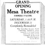December 23rd, 1933 grand opening ad