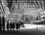 Marquee underside 1959 - Photo credit Edward Kloubec.