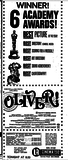 OLIVER! in 70 mm at the UA Cinema 1111 W. 22nd Street, Oak Brook, Il 60523