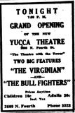 January 10th, 1947 grand opening ad