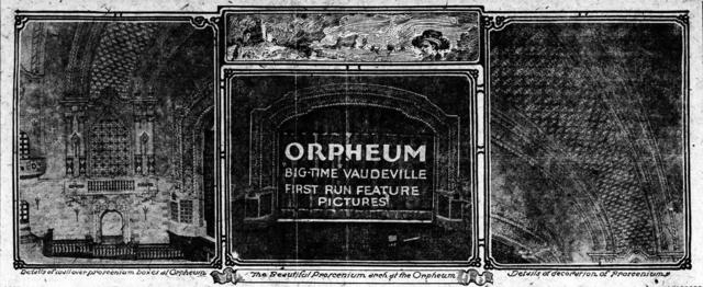 Orpheum Theatre Interior Photos