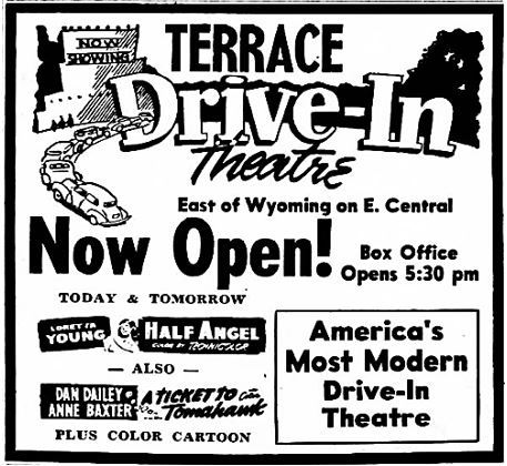 October 18th, 1951 grand opening ad