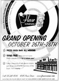 October 26th, 2001 grand reopening ad