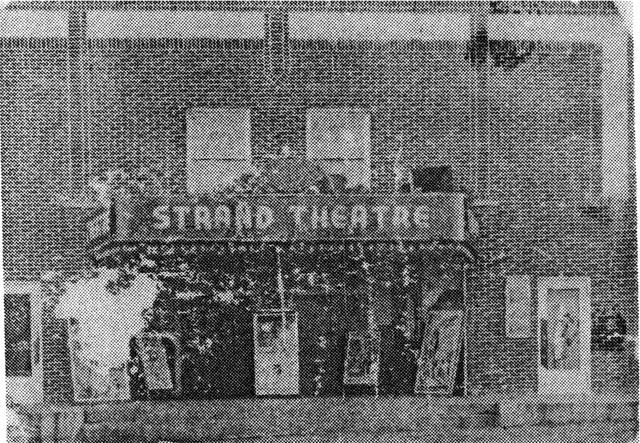 Strand Theatre circa 1945