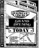 May 24th, 1991 grand opening ad as Hollywood Cinema