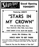 November 7th, 1950 grand opening ad