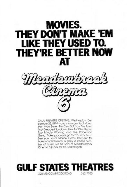 December 19th, 1976 grand opening ad