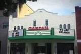 Marquee of Garden Theatre following June 12, 2016 mass shootings in Orlando