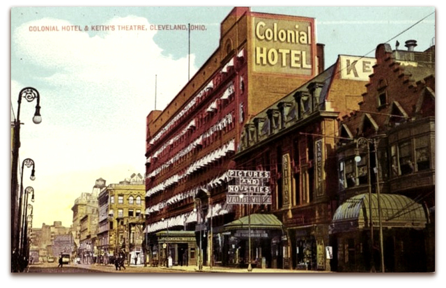 Keith's Theater© Cleveland OH /Billy Smith Collection