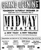 December 28th, 1951 grand opening ad