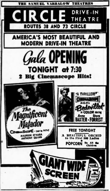 July 20th, 1955 grand opening ad