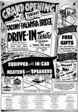 April 24th, 1957 grand opening ad