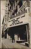 "Midwest Theater, Oklahoma City, 1956 showing ""Pardners"""