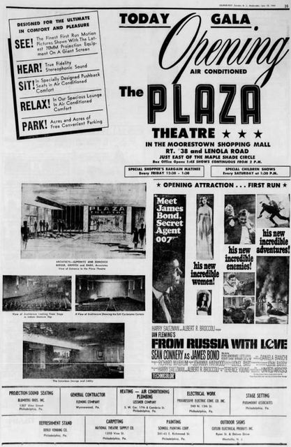 June 10th, 1964 grand opening ad