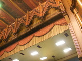 <p>Top of proscenium, May 2009</p>