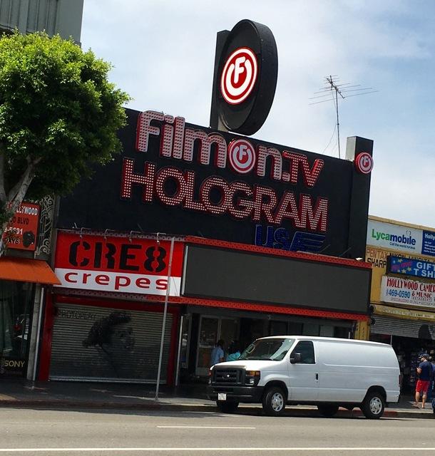 Hologram USA Hollywood Theater