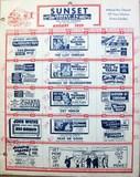 August 1959 Schedule/Advertisment
