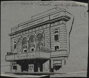 Warner Theater, Oklahoma City, Drawing