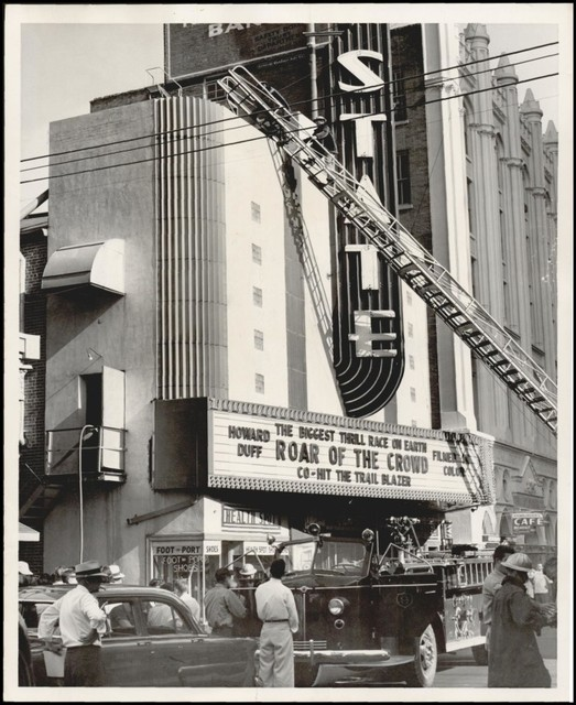 State Theater, Oklahoma City, 1953 fire