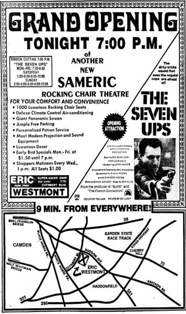 December 21st, 1973 grand opening ad