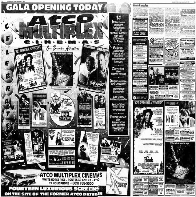 December 13th, 1991 grand opening ad