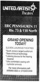 May 15th, 1992 grand opening ad