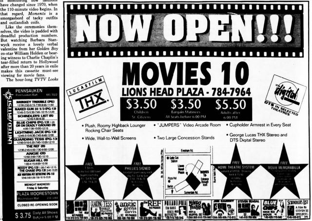 March 18th, 1994 grand opening ad