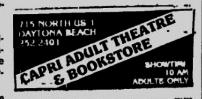 Capri Ad in Daytona Beach Sunday News-Journal - March 15, 1992
