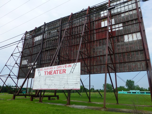 St. Albans Drive-In, St. Albans, VT