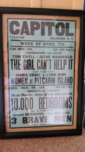 Vintage Theater Poster